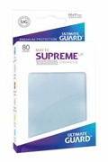 Ultimate Guard - Supreme Sleeves (Clear, 80ks)
