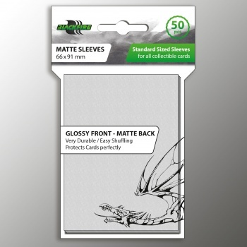Blackfire Sleeves - Matte Clear (50ks)