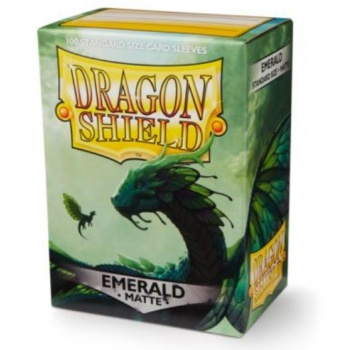Dragon Shield - Emerald Matte (100ks)